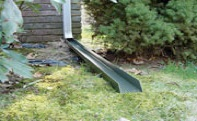 rainchute ez rain gutter downspout extension